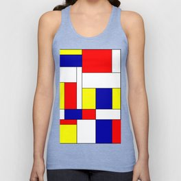 Mondrian #37 Unisex Tank Top