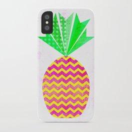 Chevron Pineapple iPhone Case