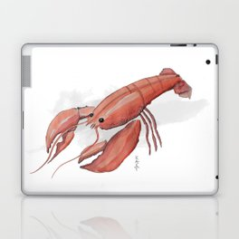 Lobster in Watercolor Laptop & iPad Skin