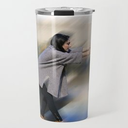 Hold on and Brace Travel Mug