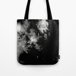 Endless Turmoil - Abstract Black And White Painting Tote Bag