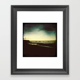 Sun Shadow Framed Art Print