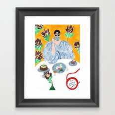 Olympia Le-tan Breakfast Framed Art Print