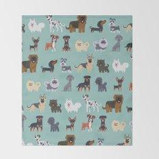 GERMAN DOGS Throw Blanket
