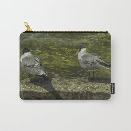 Sitting on the Seawall Carry-All Pouch