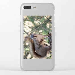 And Who Are You? Clear iPhone Case