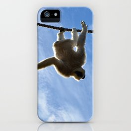 Look Ma No Hands iPhone Case