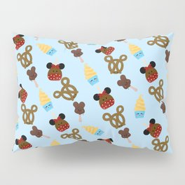 Snack Goals Theme Parks Pillow Sham
