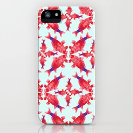 Carpe Diem Fish Star iPhone Case