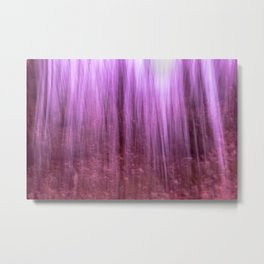 Ghostly forest Metal Print
