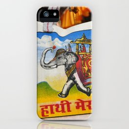 Elephant Tote iPhone Case