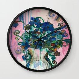 Fluer Wall Clock