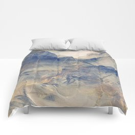 Tulle Mountains Comforters