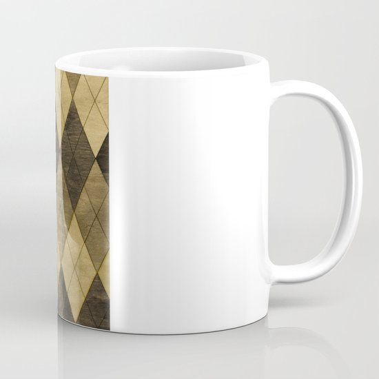 Wooden big diamond Mug