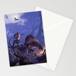 THE BEASTMASTER Stationery Cards