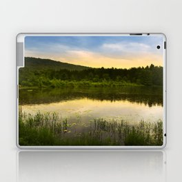 Aqua Sunset Landscape Laptop & iPad Skin