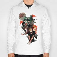mortal instruments Hoodies featuring The Mortal Instruments by The Radioactive Peach