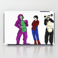 scary iPad Cases featuring Scary by Rabiscos e Tal