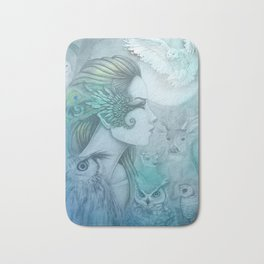 Spirit of Artemis 2 Goddess Art Bath Mat