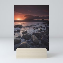 Elgol Beach V Mini Art Print