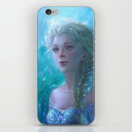 Frozen Elsa iPhone Skin