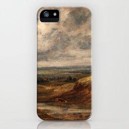 "John Constable ""Hampstead Heath"" iPhone Case"