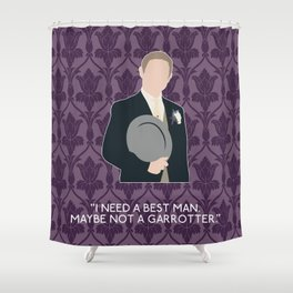 The Sign of Three - John Watson Shower Curtain