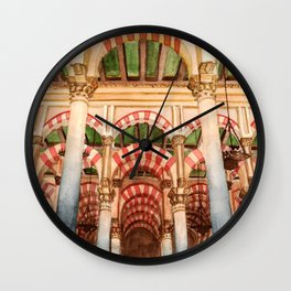 Mezquita de Cordoba - Spain Wall Clock