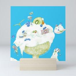 Seattle Freeze Mini Art Print