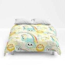 April cuteness Comforters
