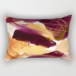 abstract painting XI Rectangular Pillow