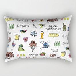 Garmisch Partenkirchen, Germany Rectangular Pillow