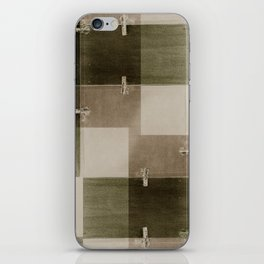 random pattern iPhone Skin