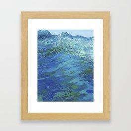 Effervescent Waves 1 Framed Art Print