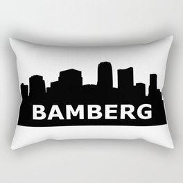 Bamberg Skyline Rectangular Pillow