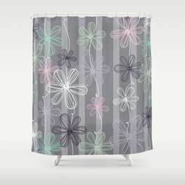 Flower Play Shower Curtain