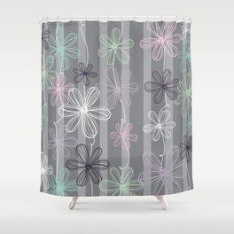 Flower Play Shower Curtain