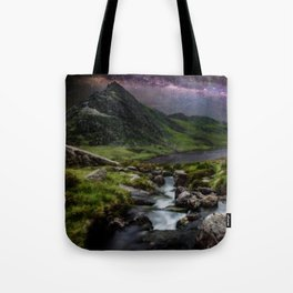 Tryfan by Starlight Tote Bag