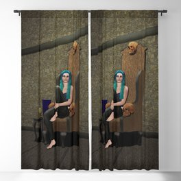 Lady Eleanor of House Brunnert Blackout Curtain