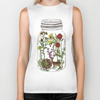 huebucket Biker Tanks featuring The Way You Remember Me by Huebucket