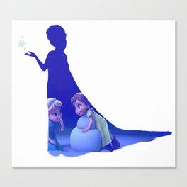 Do You Wanna Build A Snowman?? Canvas Print