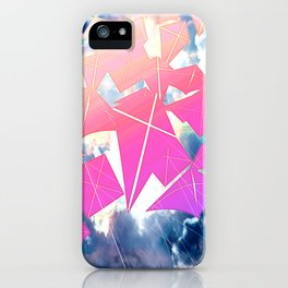 Easter Kites iPhone Case