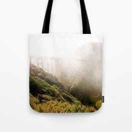 Foggy Day in the Bay Tote Bag
