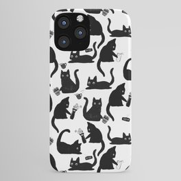 Bad Cats Knocking Stuff Over iPhone Case