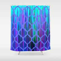 morocco Shower Curtains featuring Morocco by Saundra Myles