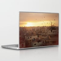 casablanca Laptop & iPad Skins featuring Casablanca by GF Fine Art Photography