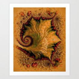 Vintage Shell Art Print