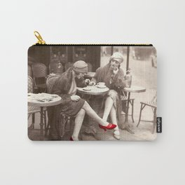 New Red Shoes Vintage Paris Photo Carry-All Pouch