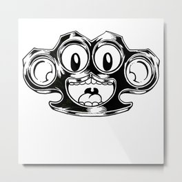 Brass Monkey Metal Print
