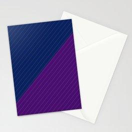 Raillure fond bleu violet Stationery Cards